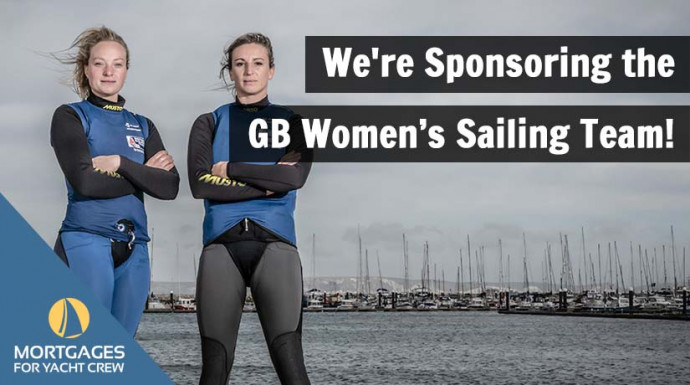 We're Sponsoring the GB Women's Sailing Team!