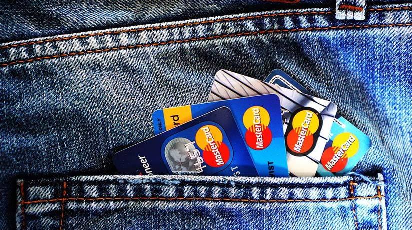 Credit Cards in Back Pocket