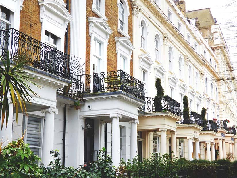 Row of Georgian Houses
