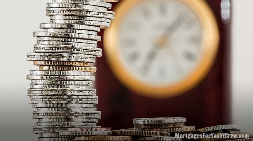 Money and Ticking Clock