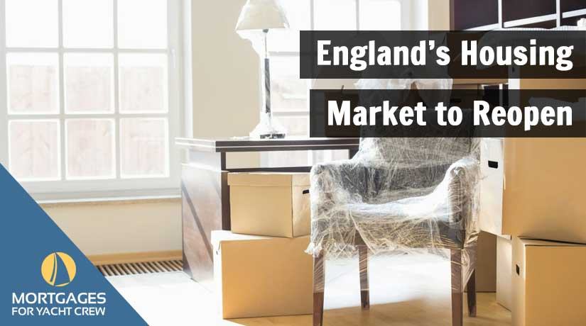 England's Housing Market to Reopen