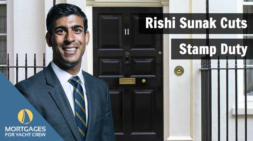 Rishi Sunak Cuts Stamp Duty