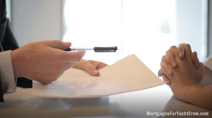 Handing Over Mortgage Contract