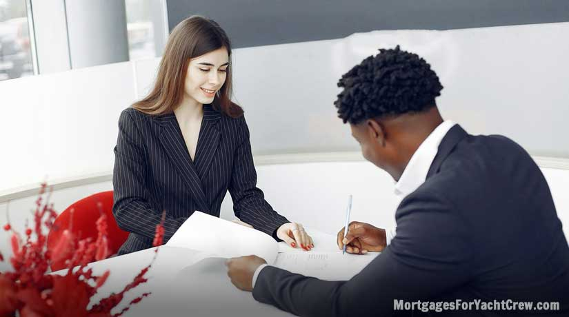 Signing Mortgage Contract